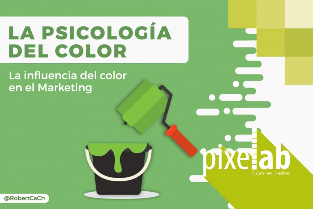 La Psicología del Color en el Marketing y cómo influye en tu marca