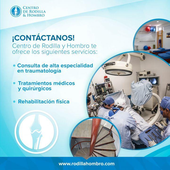 Campaña informativa para lesiones de traumatologia - CENTRO DE RODILLA Y HOMBRO