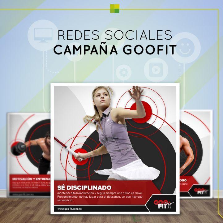 Campaña de GooFit tips entrenamiento