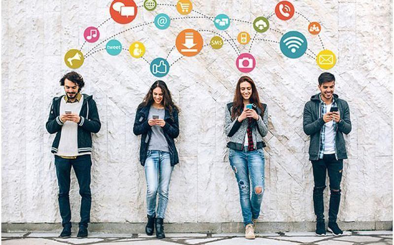 Los mexicanos usan el internet para ver sus redes sociales