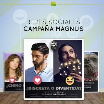 Campaña de Magnus para Redes Sociales