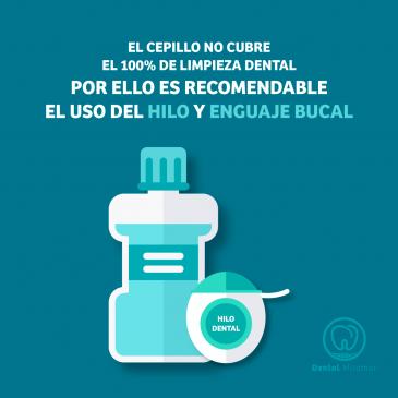 campaña informativa sobre el cuidado de los dientes - DENTAL MIRAMAR
