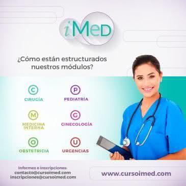campaña promocional curso para ENARM - IMED